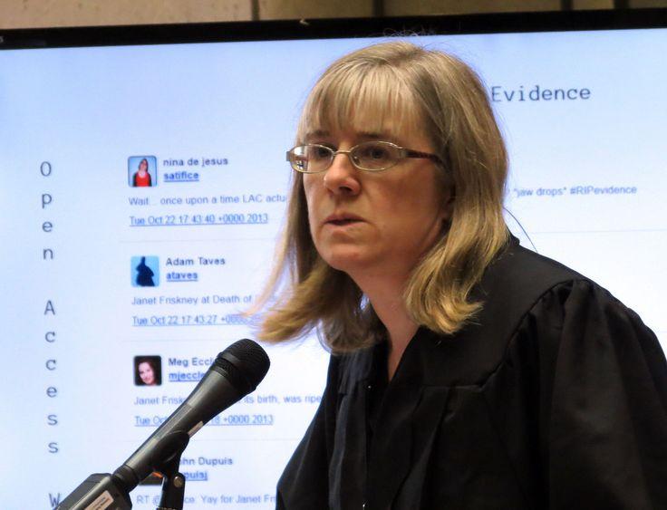 Janet Friskney - Death of Evidence in #Canada, Oct.22 #YorkU #RIPevidence #OAweek