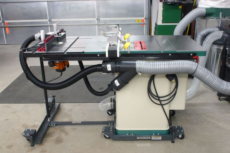 Grizzly Table Saw With Router Extension