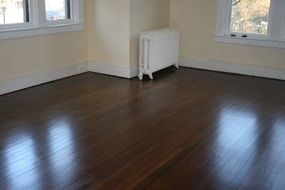 staining hardwood floors darker before and after - Google Search