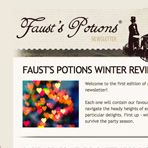Faust's Potions are a unique blend of nutritional supplements, vitamins, antioxidants and herbs, tailor-made for discerning nightowls. http://www.faustspotions.com