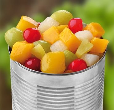 Canned Fruits & Canned Vegetables