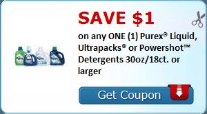 check out how you can get Purex laundry detergent for just $.29!