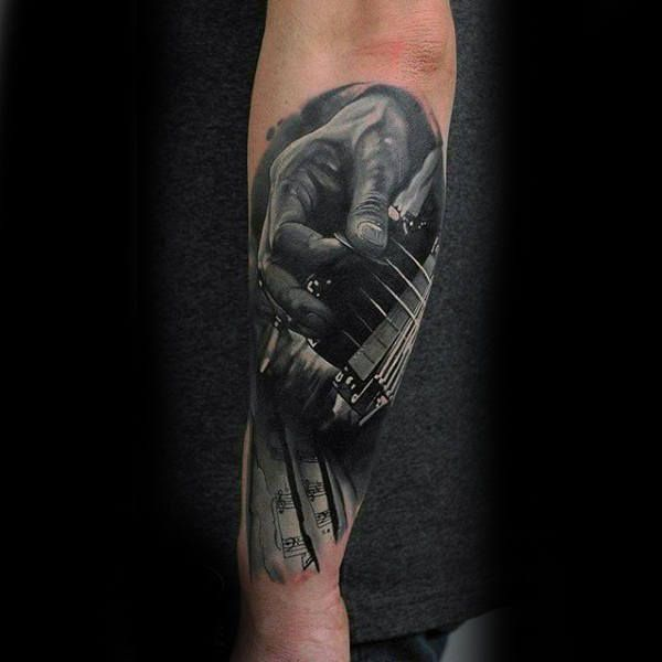 75 Black And White Tattoos For Men Masculine Ink Designs Tattoos For Guys White Tattoo Tattoos