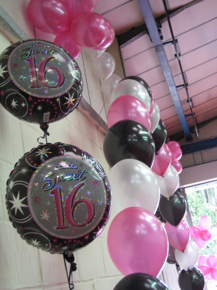 Sweet 16 Balloons 17 best Gothic sweet
