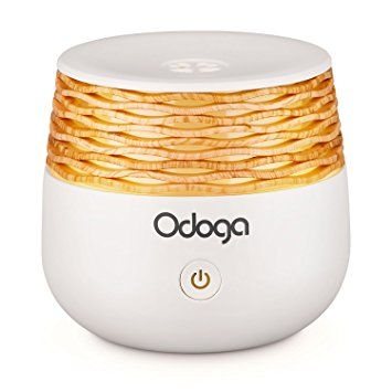 Odoga Aromatherpay USB Mini Oil Diffuser, 30mL ~ Cool Mist Ultrasonic Aroma Humidifier - Connect To Your Laptop Or Power Bank - Silent, Compact & Portable For Travel