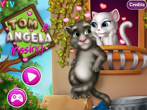Tom Angela Kissing is a free Games For Girls. You can play the game on smartphone and tablet (iPhone, iPad, Samsung, Android devices and Windows Phone)