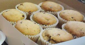 Vegan, gluten-free banana chocolate chip muffin recipe