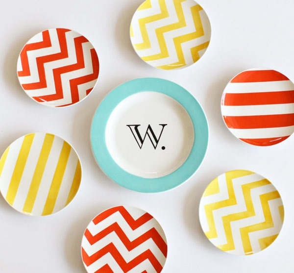 Chevrons and stripes...definitely the bold and trendy patterns this year!