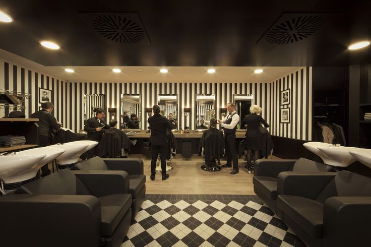 Barbershop, Luxembourg. Installed by JJ Maes. Photo: Patty Neu.