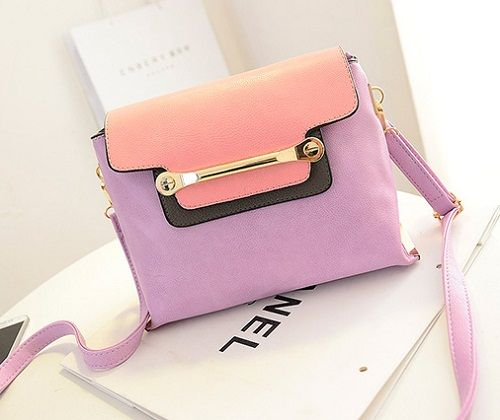 tas import C004 Purple Material:PU leather Size:24x19cm idr:190.000