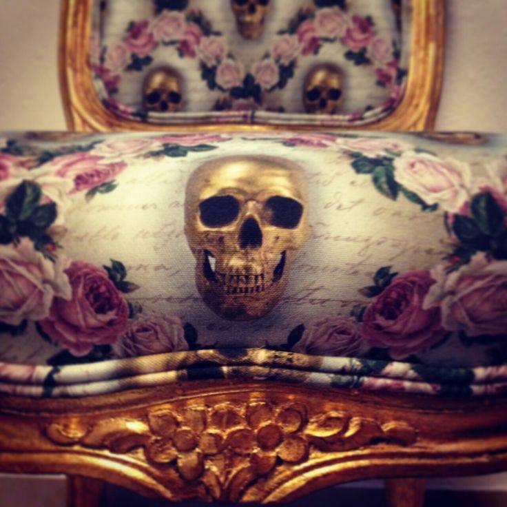 Swedish handmade furniture. Rococo rock! We ship worldwide. Order here : Lynn@bvndesign.se