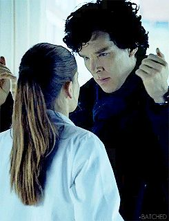 The Sherlock-Molly kiss.  Yup, got all tingley