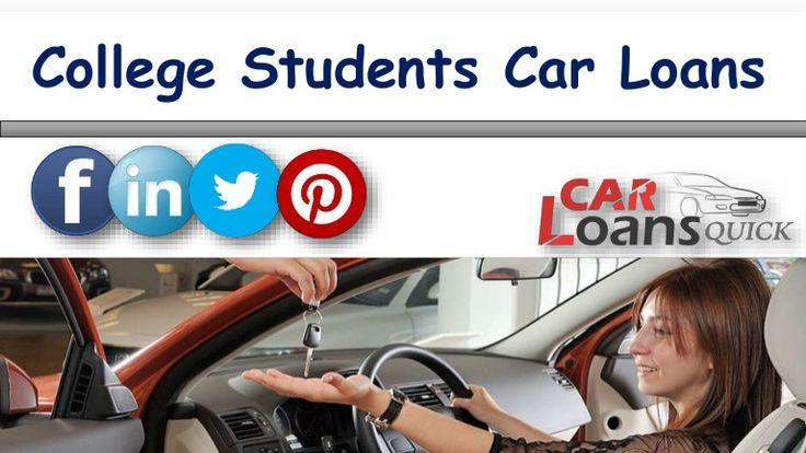 college student car loan programs
