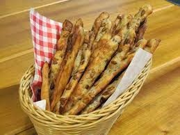 Varomeando: Barritas de pan de pipas