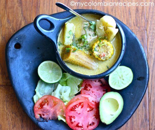 Sancocho de Pescado con Coco (Fish and Coconut Soup)