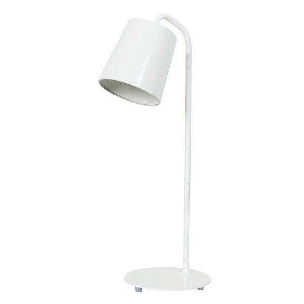 Mak Table Lamp in White