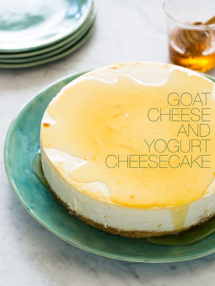 Goat Cheese and Yogurt Cheesecake | Spoon Fork Bacon