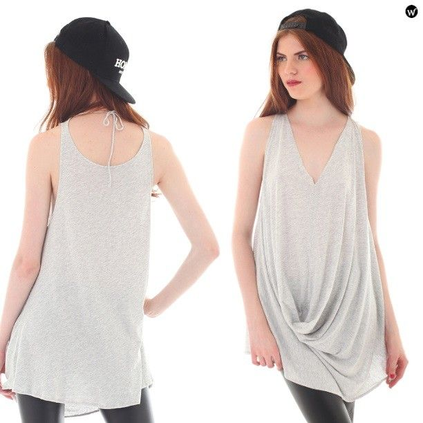 You can wear it backwards, Cary's Trunk Sandy Back Draped Top, IDR139.000, recommended! dapatkan dgn diskon 15%. http://pict.com/p/Bry