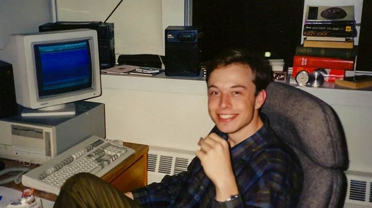 Elon Musk's young days picture