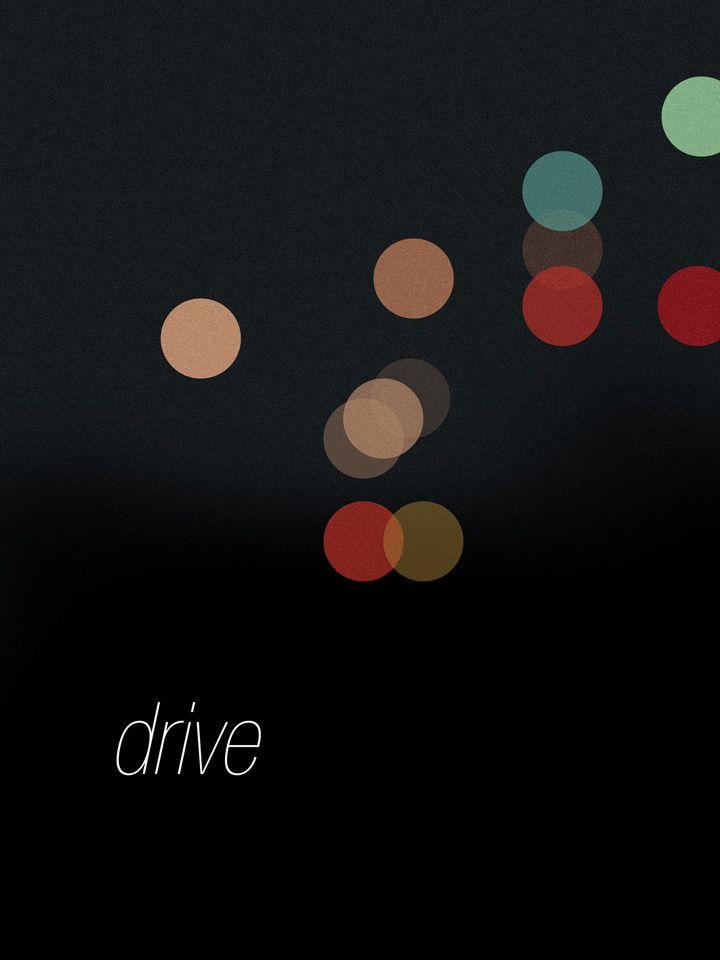 "Minimalist Movie Poster |  ""Drive"" (2011)"