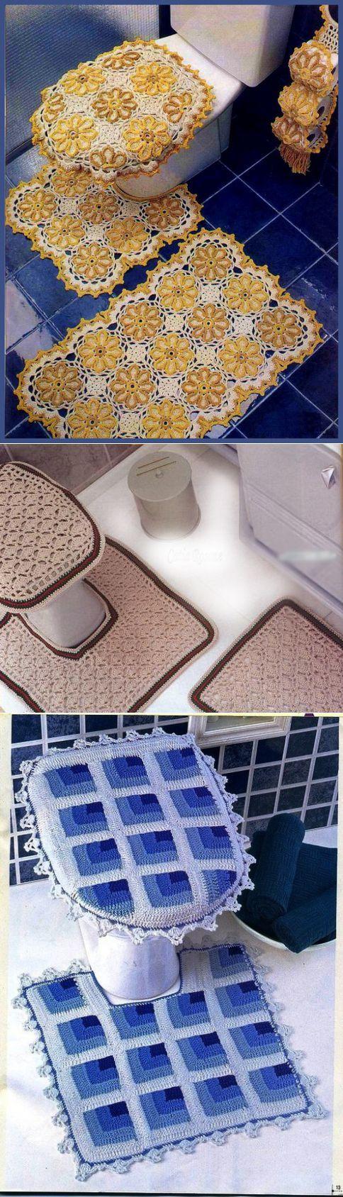Мега-коллекция комплектов для ванной комнаты   Умелые ручки   Для уюта   Постила