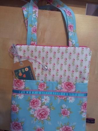 Tilda Fabric Bag/IPad Case - The Supermums Craft Fair