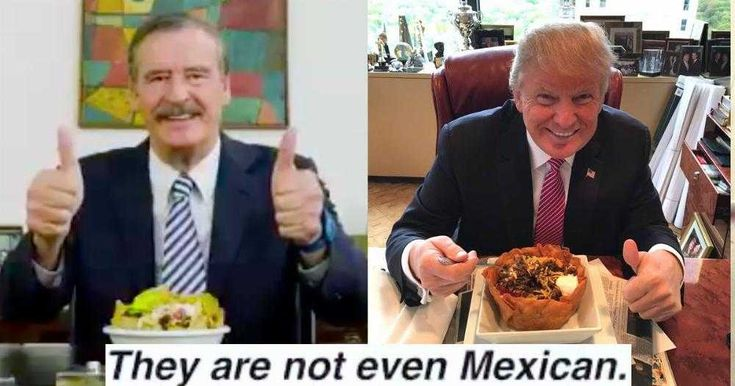 """Today's episode of """"world leaders trolling the US president"""" comes to us from below the still wall-less border in Mexico. Former Mexican president Vicente Fox has trolled President Donal"""