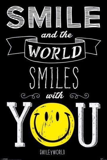 Smiley (Świat Uśmiecha Się Do Ciebie) - plakat
