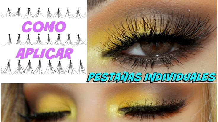 COMO aplicar PESTAÑAS INDIVIDUALES (tips) / How apply Individual lashes ...