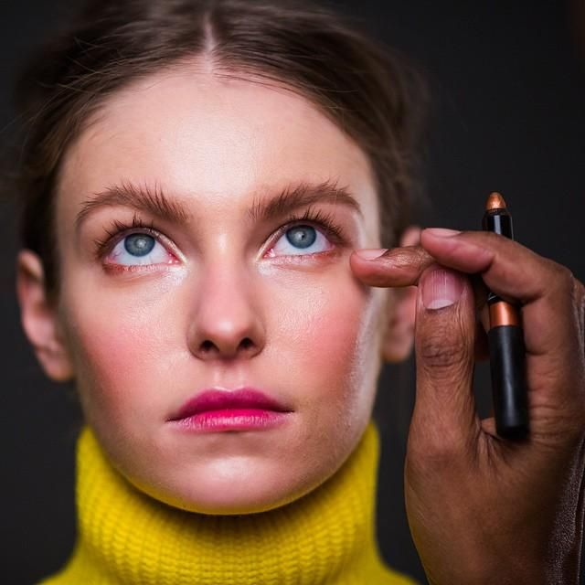 Shana fell in love with the fresh-faced look on the J. Crew models at NYFW and asked me how to recreate it. I loved the dewy skin, flushed cheeks and especially the way the eyes and lips ar...