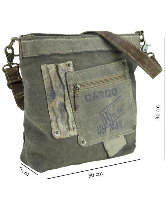 b0ae05918fb2 Shoulder Bag, Crossbody, Gray Bag, Large Shoulder Bag, Henkel Bag ...
