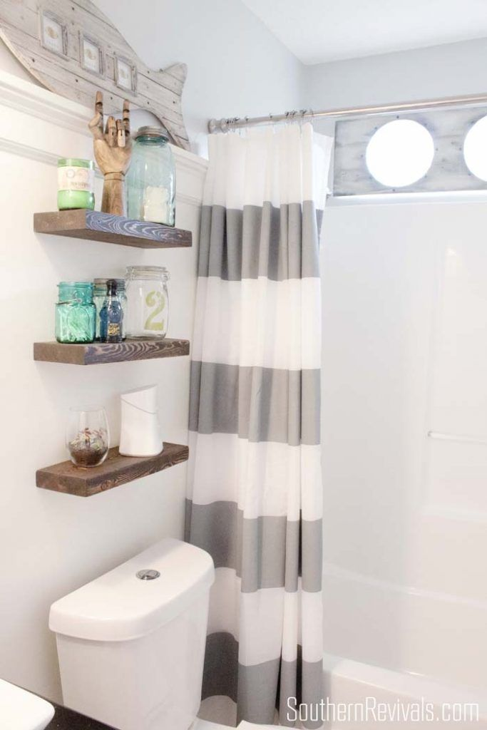 Decoracion Baño Hippie:Más de 1000 ideas sobre Shelves Over Toilet en Pinterest