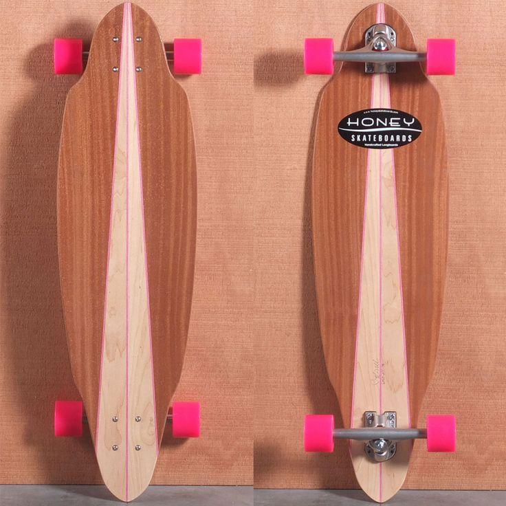 12 of the Coolest Longboards for Girls | KiteSista | http://www.kitesista.com/12-of-the-coolest-longboards-for-girls/