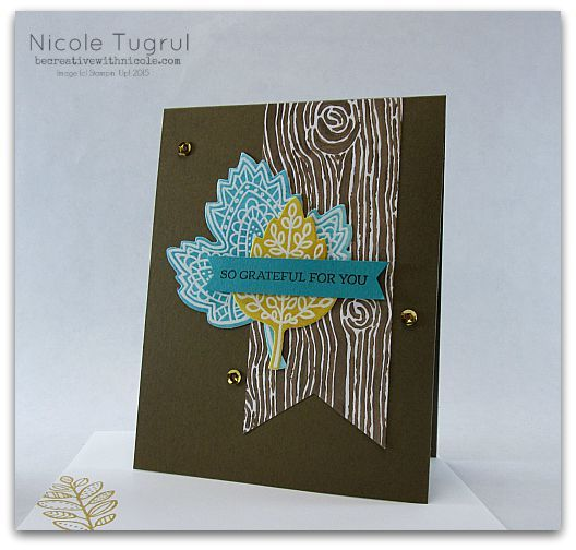 Soft Suede Fall by nwt2772 - Cards and Paper Crafts at Splitcoaststampers