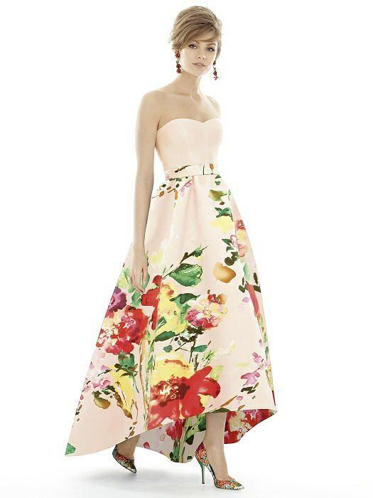 Alfred Sung Midnight Bridesmaid Dress – fashion dresses