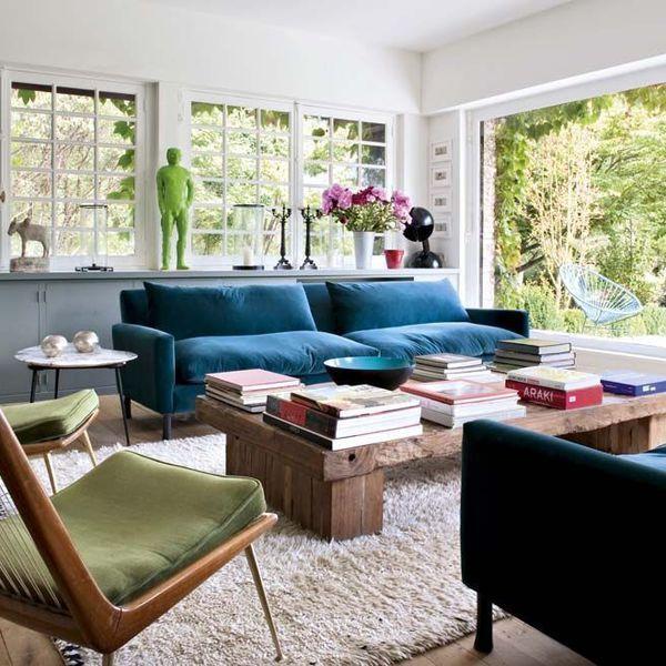 Jardin vivant : le tableau entre dans le salon par la grande baie vitrée