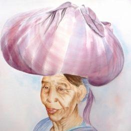 Femme de Panajachel, Guatemala www.voyage-aquarellle.fr