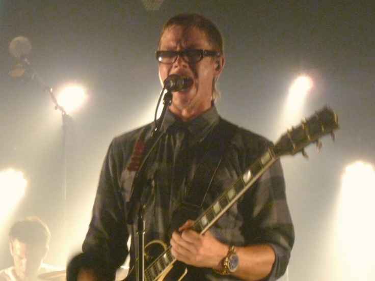 I love to watch Interpol live. Paul Banks has such style and passion performing. [ As a whole, they exude passion...so much so that it touches your soul.]