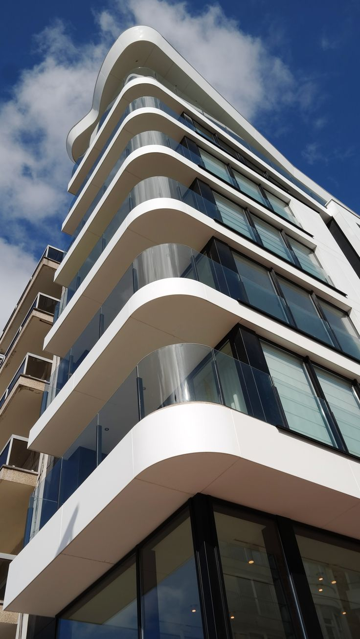 Balcony Design London: 17 Best Images About Corian® Wall Cladding On Pinterest
