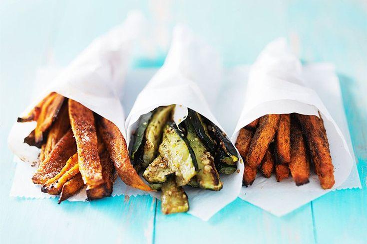 Recept: zoete aardappel friet uit de oven - azenda.com