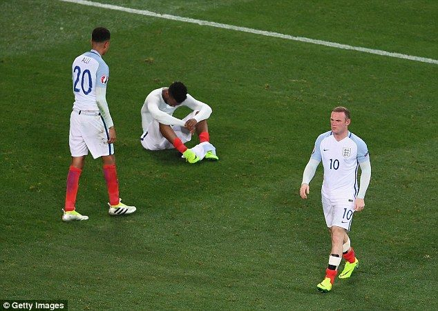 England have a tendency to visibly shrink and that trait was on show once more against Iceland in Nice