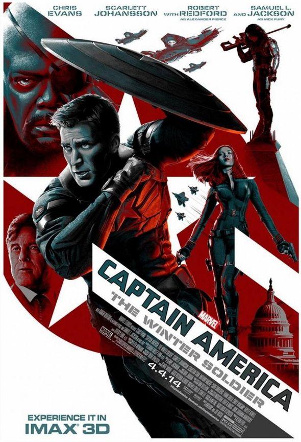 Póster IMAX de 'Capitán América: el soldado de Invierno'