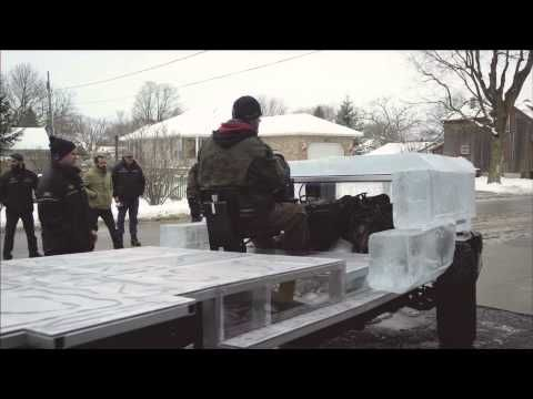 Behind the Scenes Documentary of the Canadian Tire Ice Truck (Winter 2013)