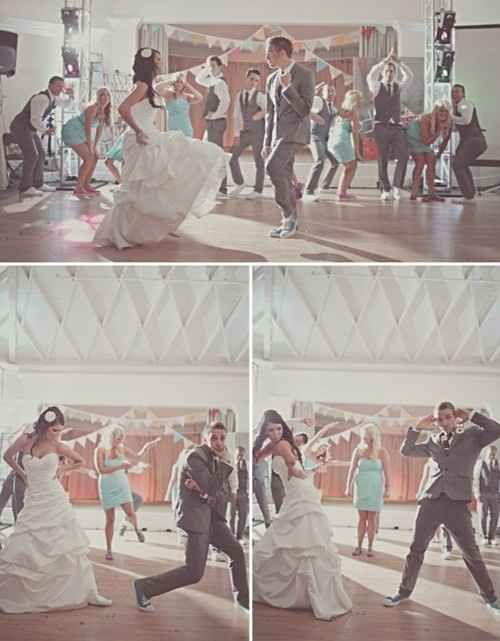 Have a dance just for the married couples.