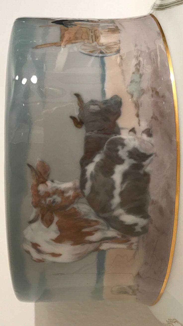 Meißen , Vase , Detail.  ( Siehe Anmerkungen bei der Totalansicht ).