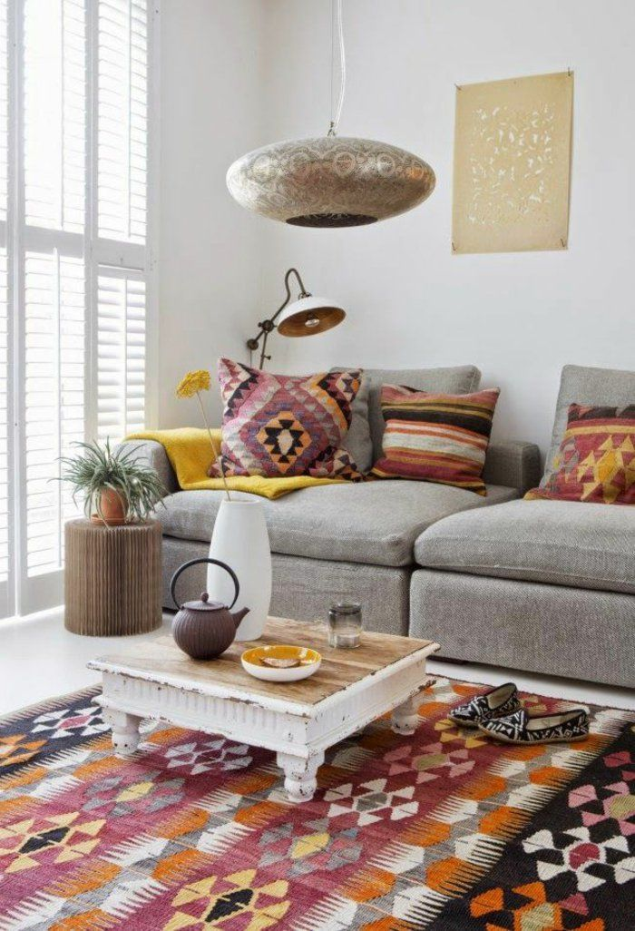 tapis berbere kilim pas cher pour le salon berbere