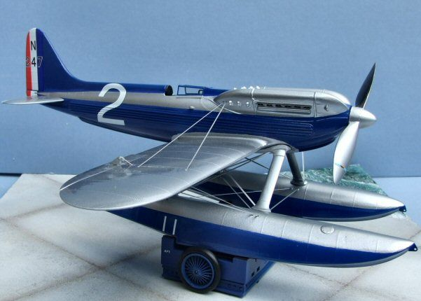 1929 Supermarine S6. Marsh Models/Aerotech, 1/32, resin, rebox 2009 (ex Marsh Models/Aerotech 2005 No.32001, updated / new parts), No.32009. Price: Not Sold.
