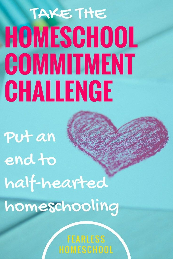 Click here to sign up for the FREE Homeschool Commitment Challenge. Sort your homeschool mission, fears and actions out in four easy email lessons with videos!
