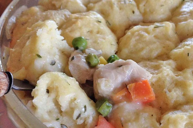 Turkey and Dumplings  - King Arthur Flour