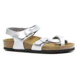 Birkenstock Zilveren Sandalen